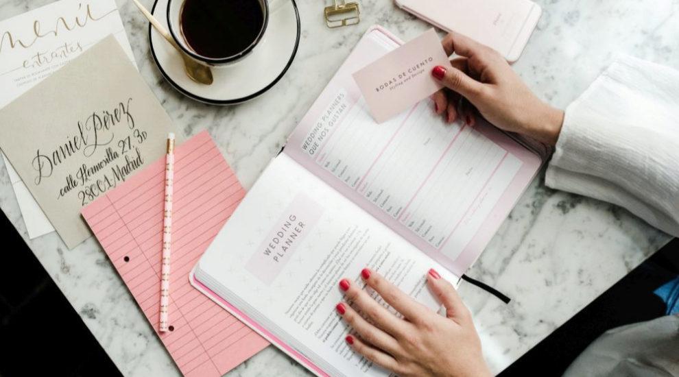 Agendas de novias para organizar tu boda