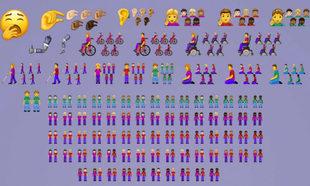 Algunos de los nuevos emojis que incluirá Unicode Consortium.