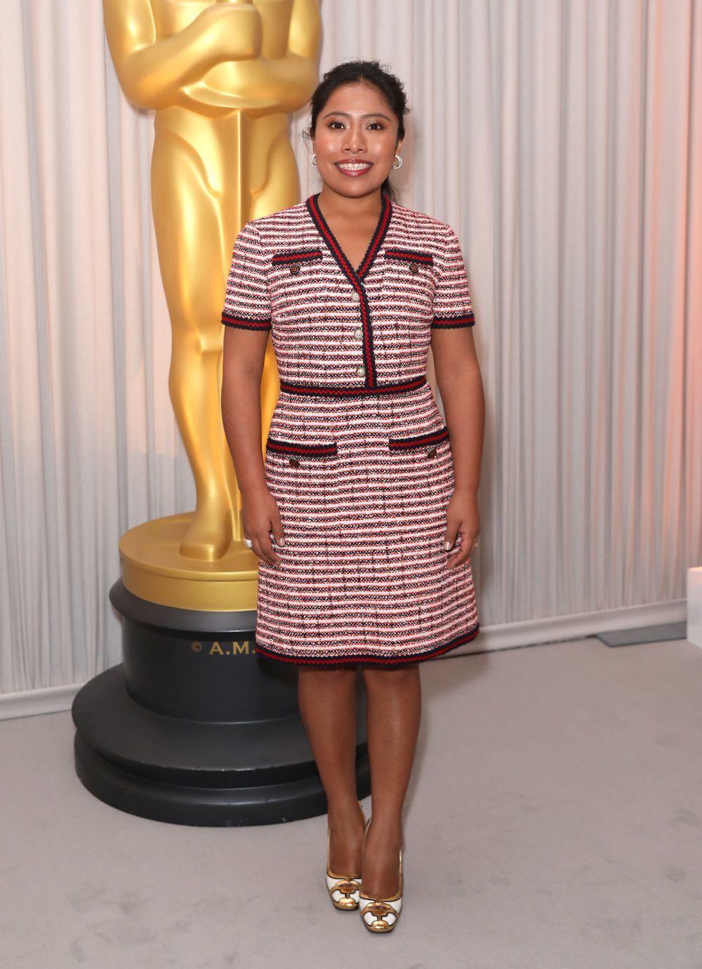 Yalitza Aparicio está nominada al Oscar como mejor actriz por Roma