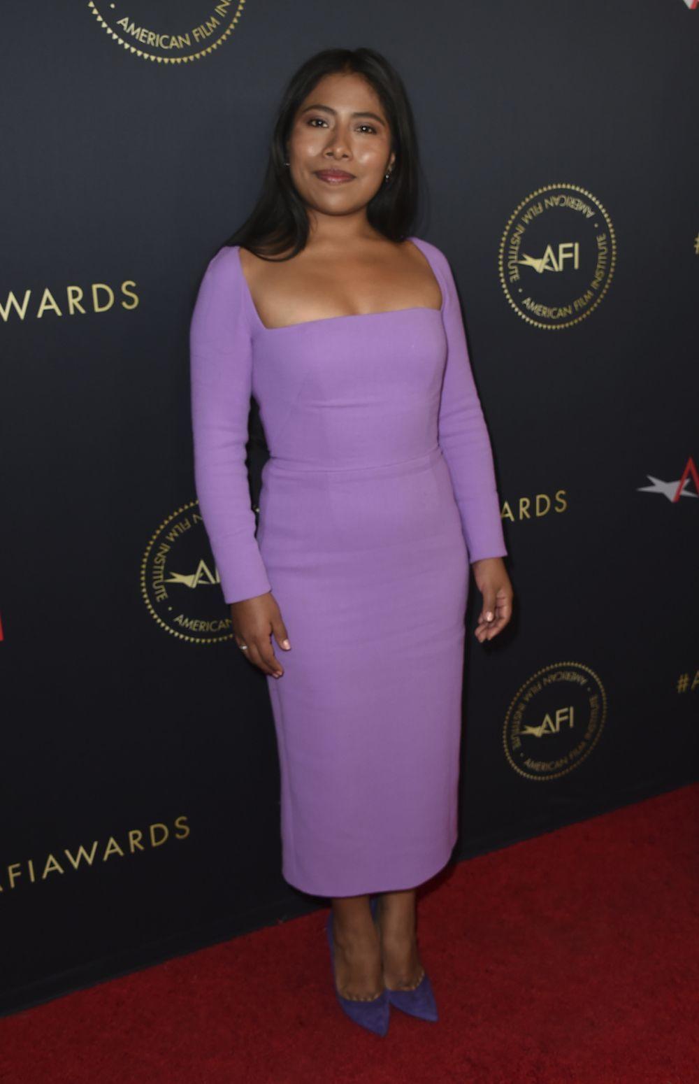 Yalitza Aparicio en los AFI Awards