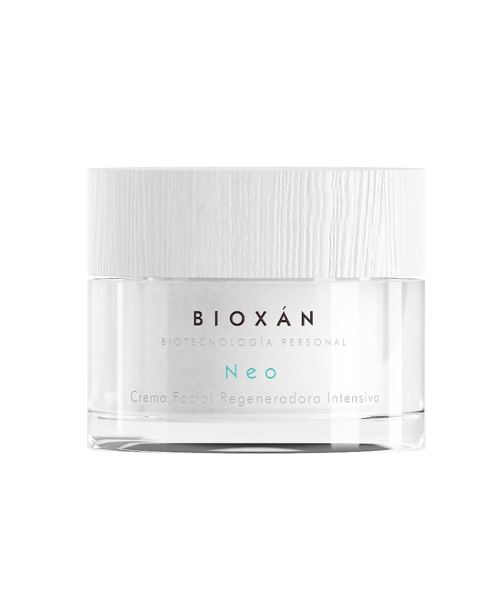 Crema facial regeneradora intensiva NEO de Bioxán con prebióticos...