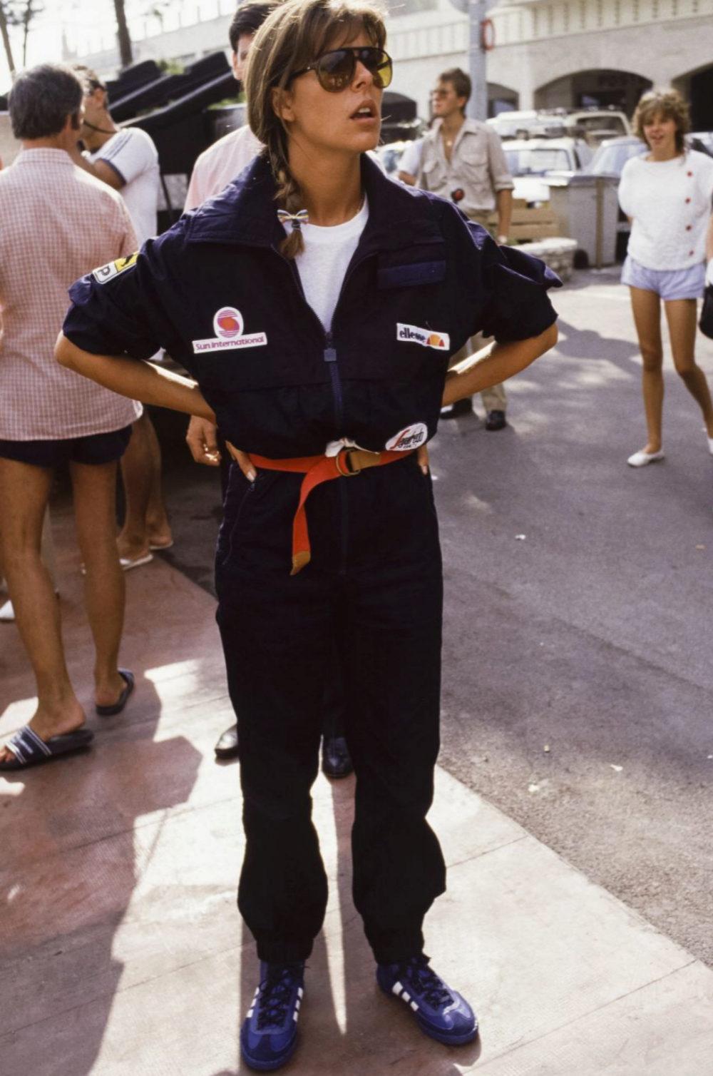 Carolina de Mónaco en 1985