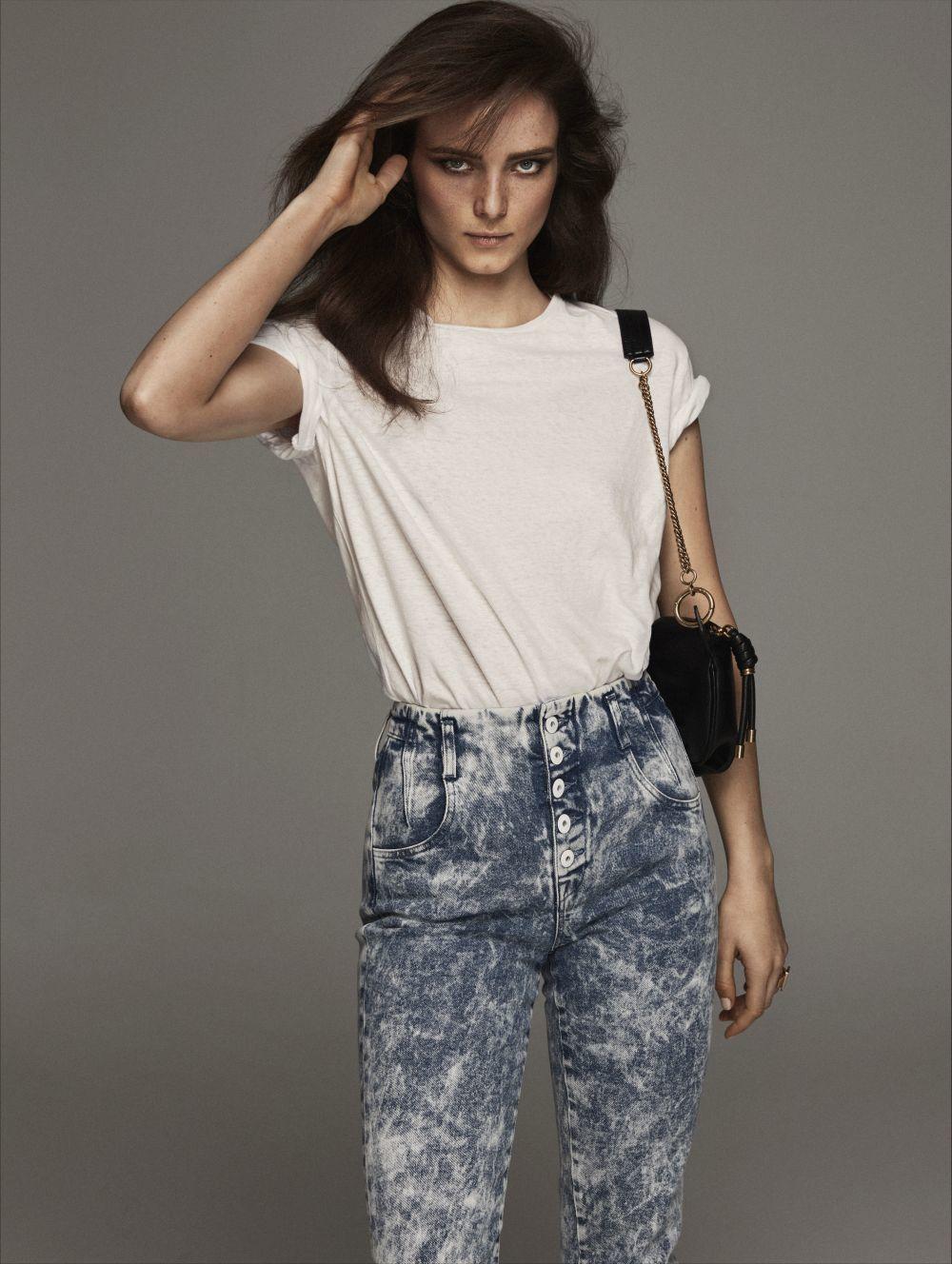 Vuelven los jeans de los años 80.
