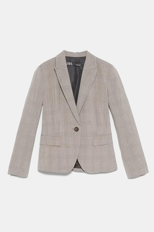 Blazer gris de Zara