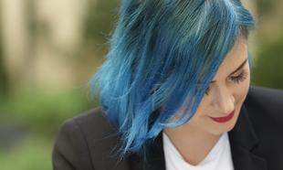 La escritora Elísabet Benavent en el Hotel CoolRooms de Madrid para...