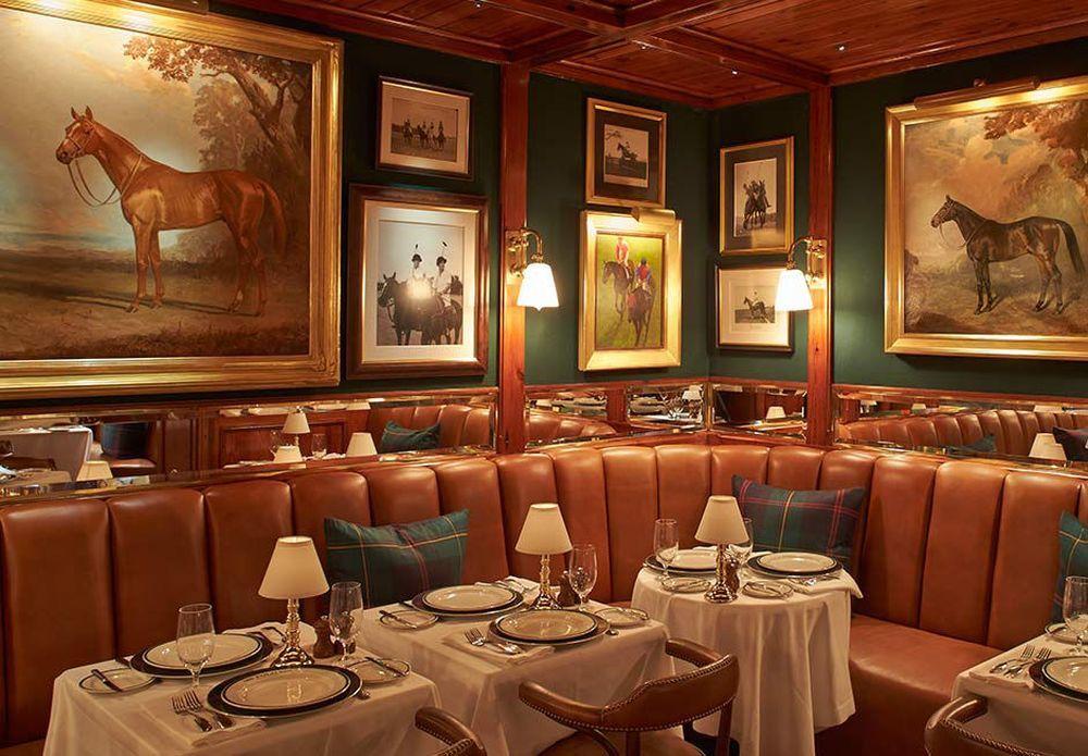 Interior del Polo Bar, en Nueva York.