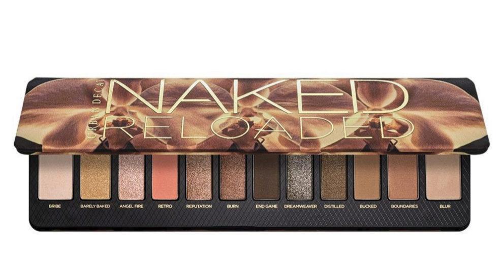 Paleta de sombras Naked Reloaded