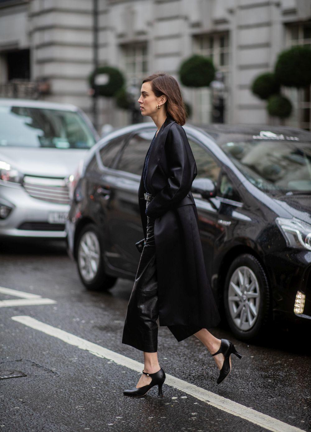 Alexa Chung en Londres.