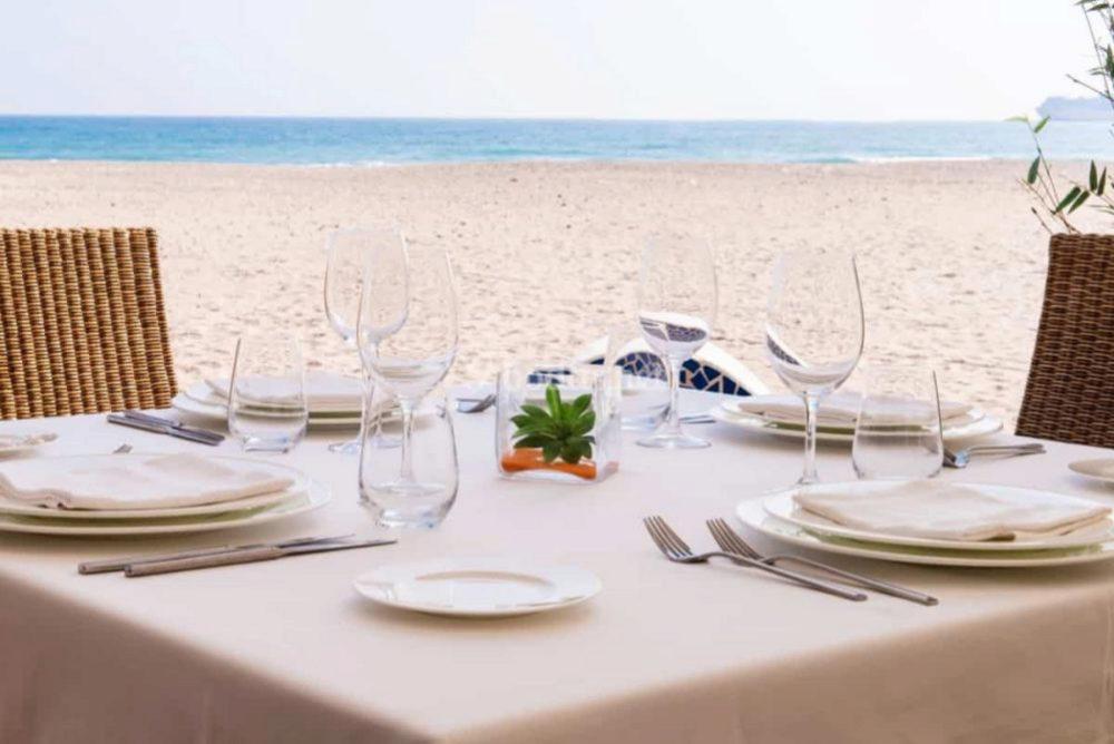 Restaurante L'Estibador en la playa del Saler, donde se come una de...