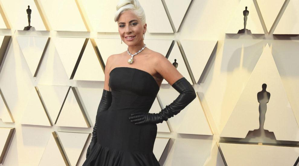 La actriz, nominada a Mejor Actriz por Ha nacido una...