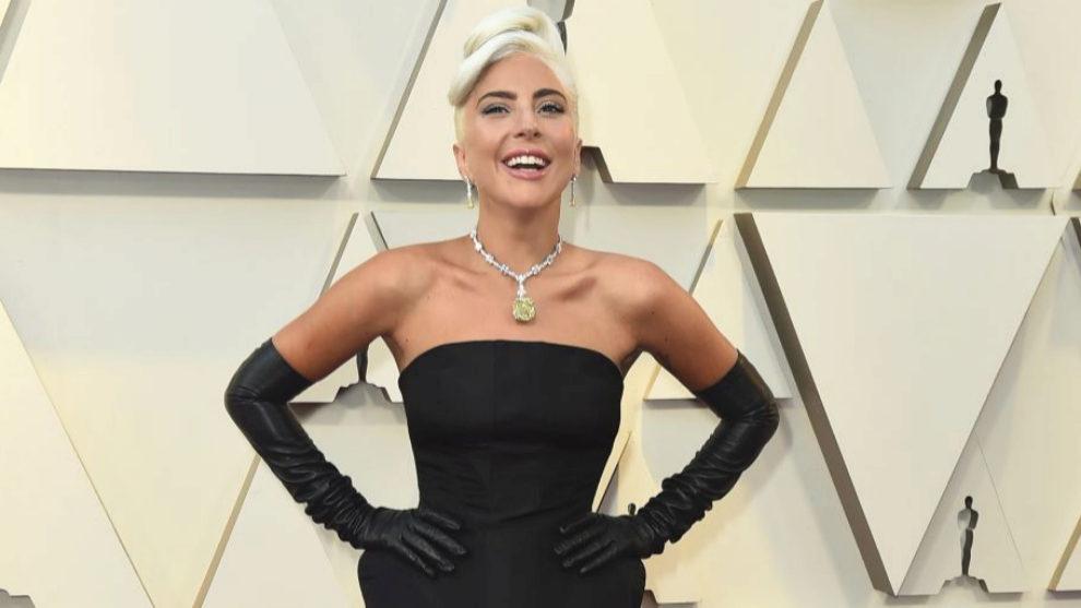 b7831e3abe91 Premios Oscar 2019  Oscar 2019  Lady Gaga ha lucido el histórico ...