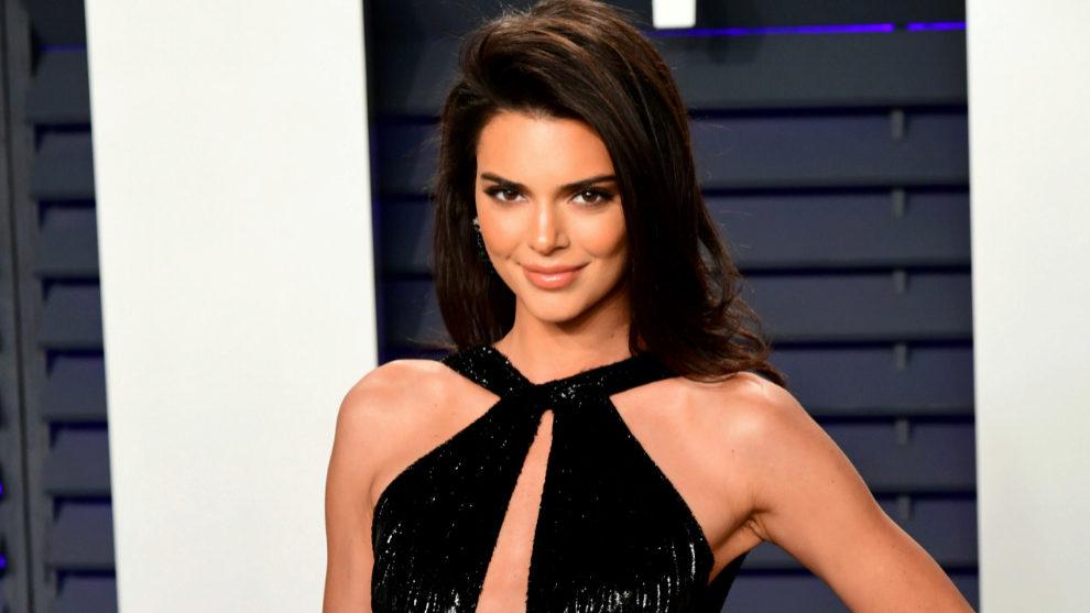 Kendall Jenner en la fiesta de Vanity Fair