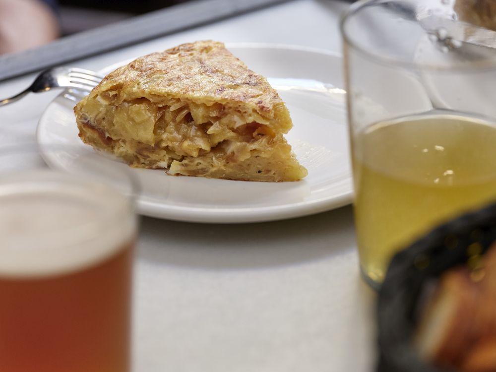 Tortilla de cabrales, de La Bobia