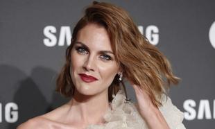 Amaia Salamanca con el pelo pelirrojo, otro de sus cambios de look...