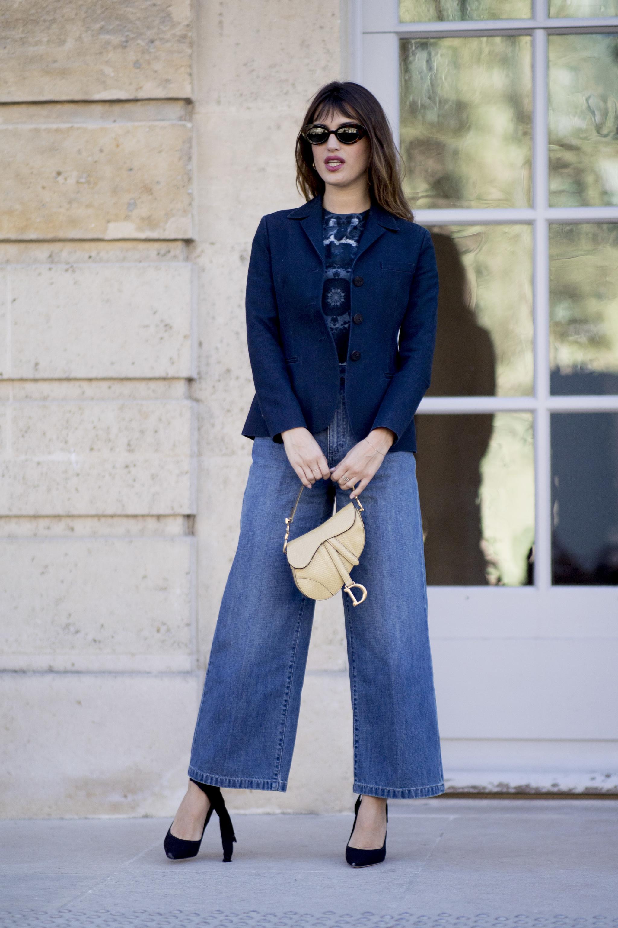 La francesa en el desfile de Dior.