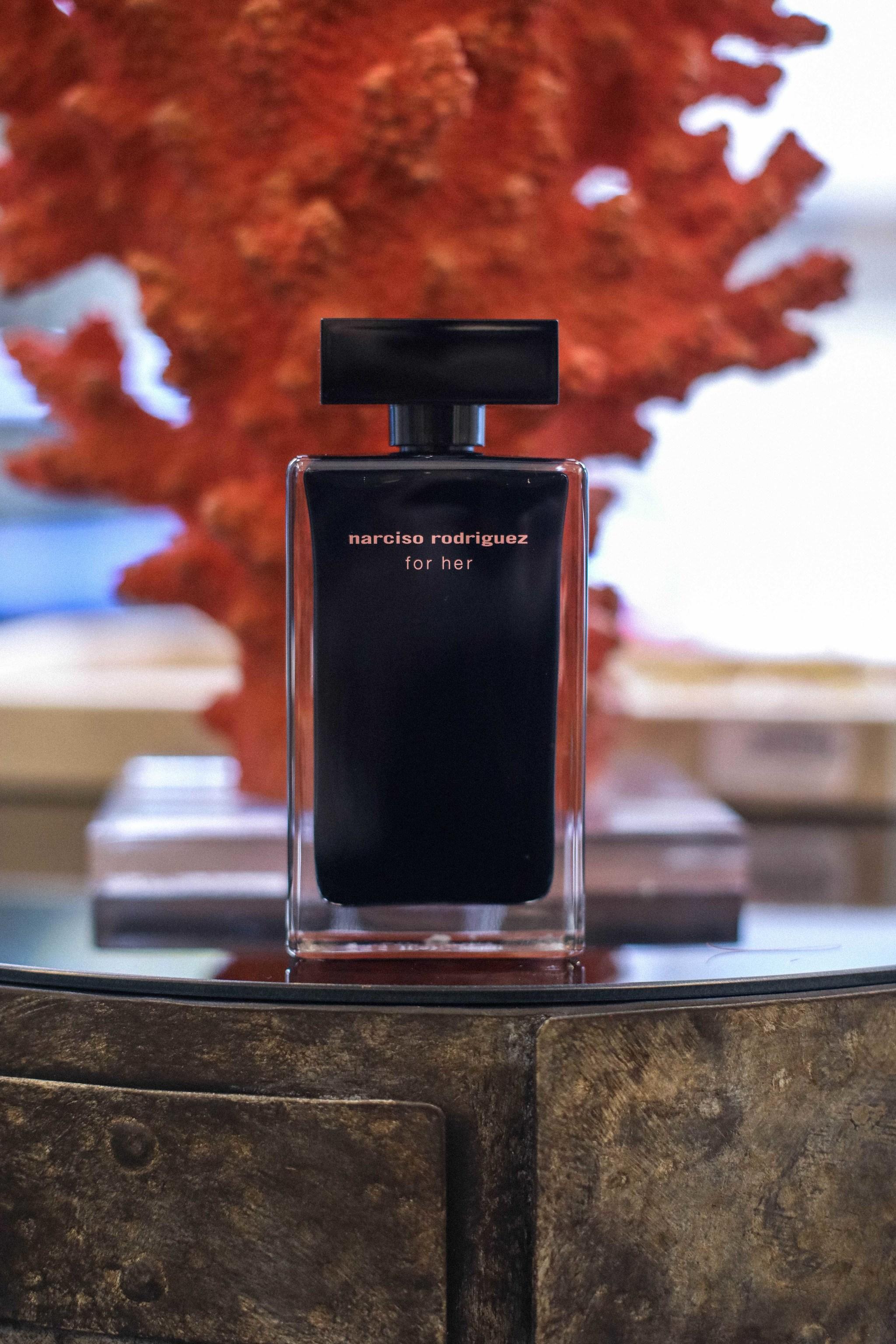 El perfume For Her de Narciso Rodríguez.