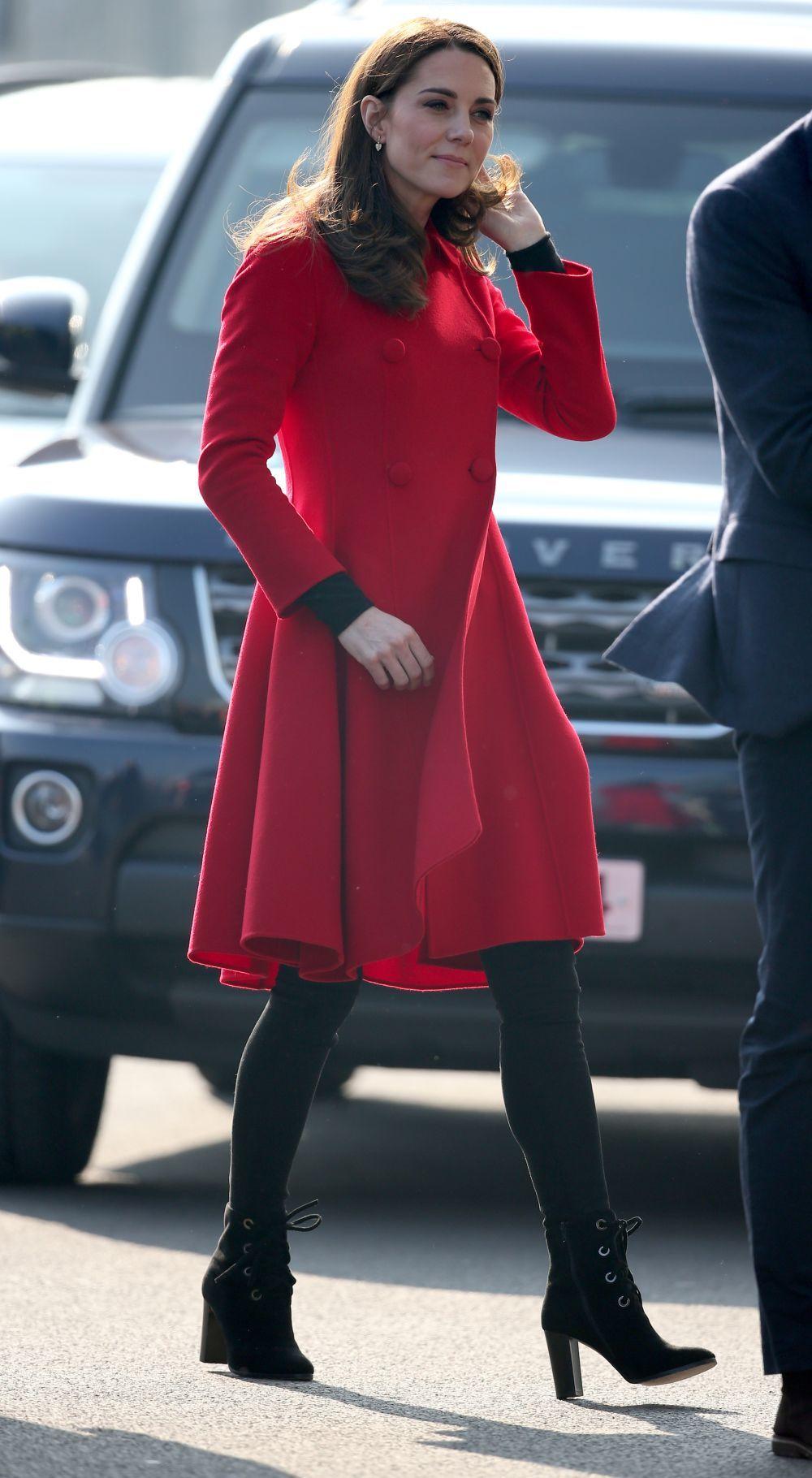 Kate Middleton de visita en Irlanda del Norte