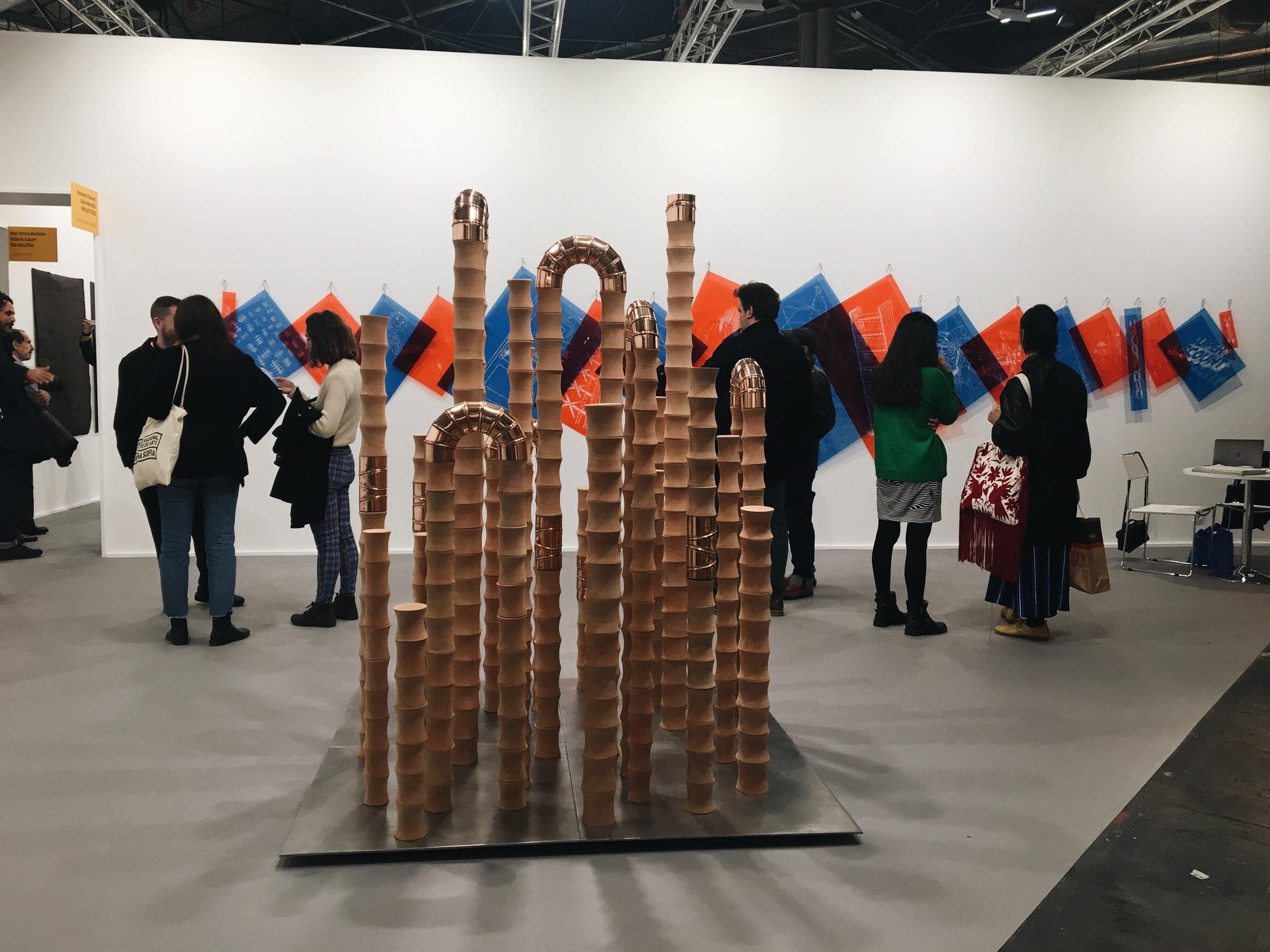 La obra de la artista peruana Ximena Garrido-Lecca se expone en ARCO...