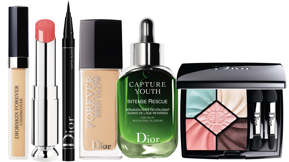 Diorskin Forever Undercover #031 Sand; Barra de labios Dior Addict...