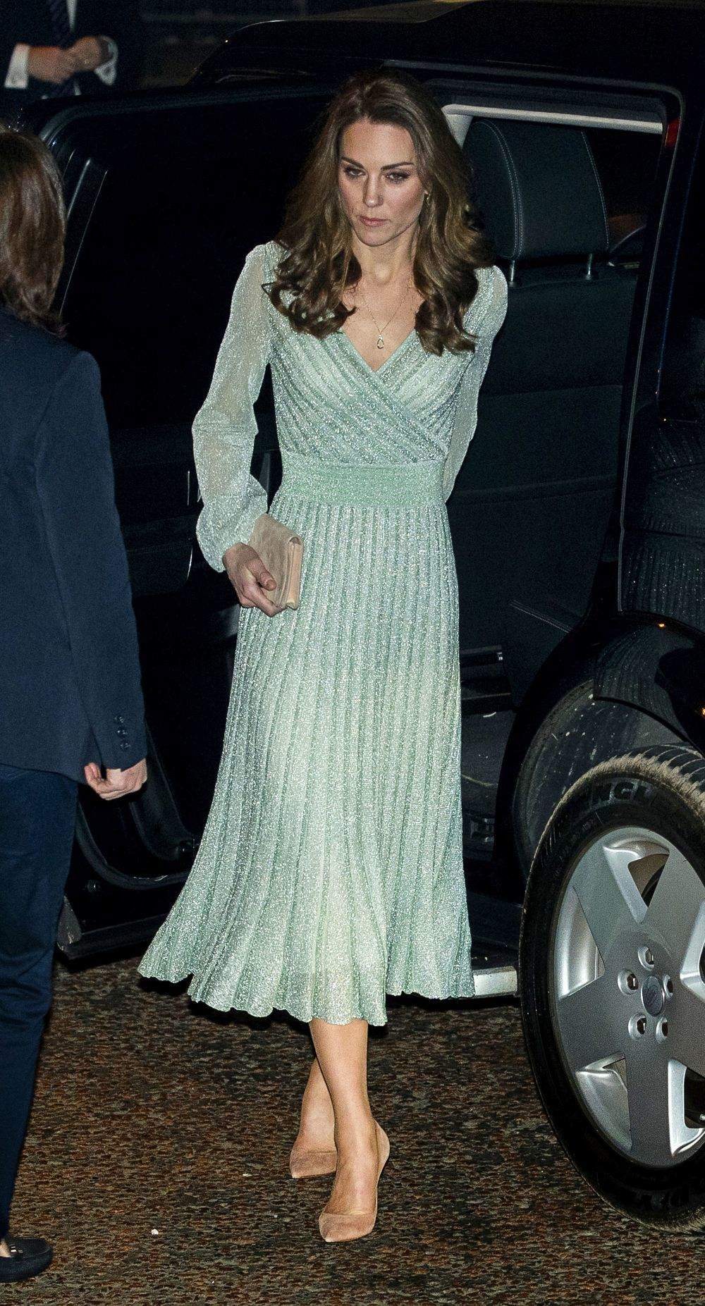 Kate Middleton con un vestido de Missoni.