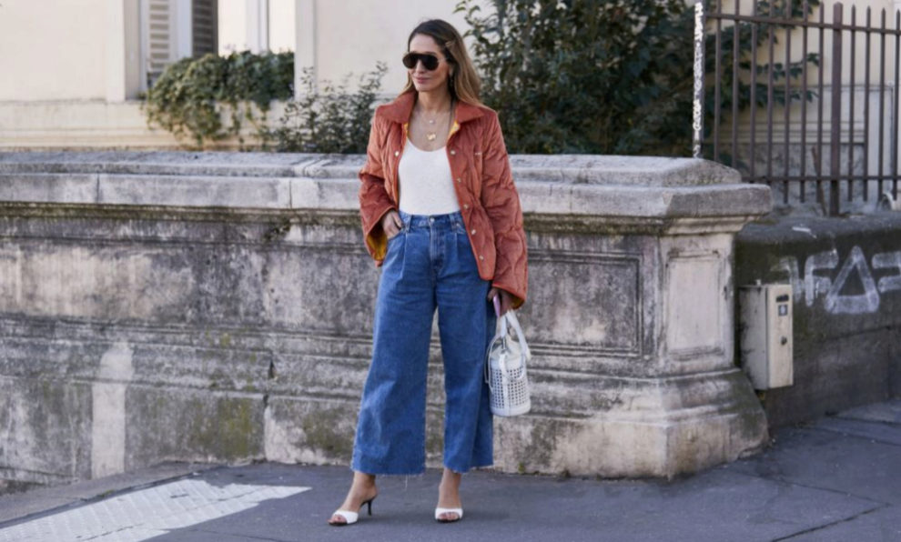 El street style sabe que estos son los jeans que necesitas