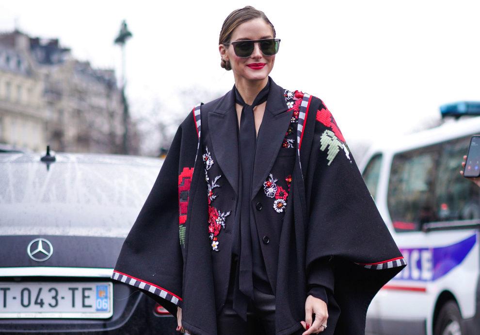 Olivia Palermo, durante la París Fashion Week.