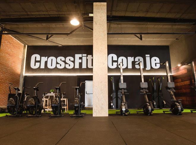Imagen del nuevo centro en Móstoles (Madrid) de CrossFit Coraje,...