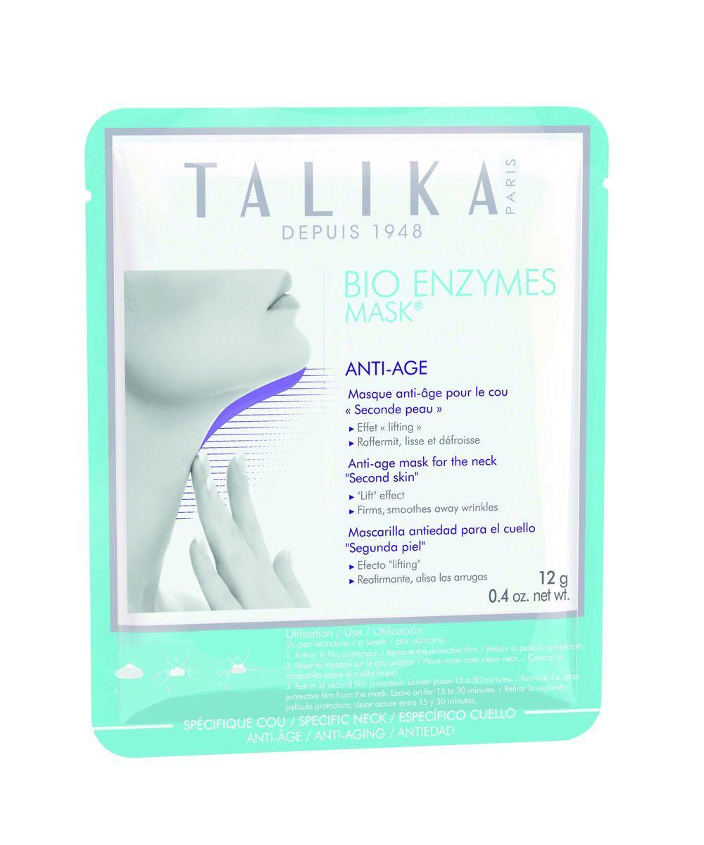 Mascarilla para el cuello Bio Enzymes Mask de Talika.