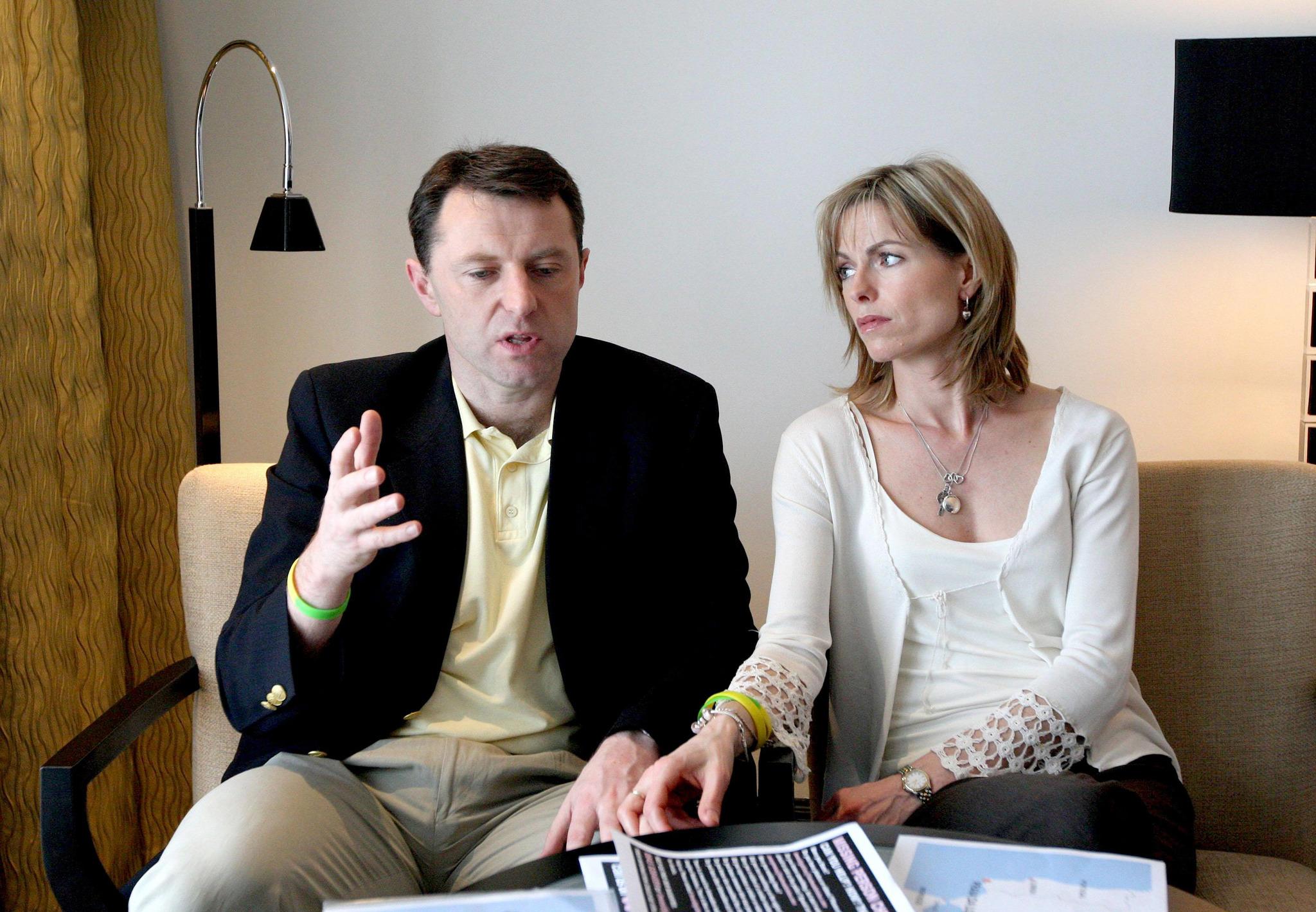 Kate y Gerry McCann en una imagen de 2008.