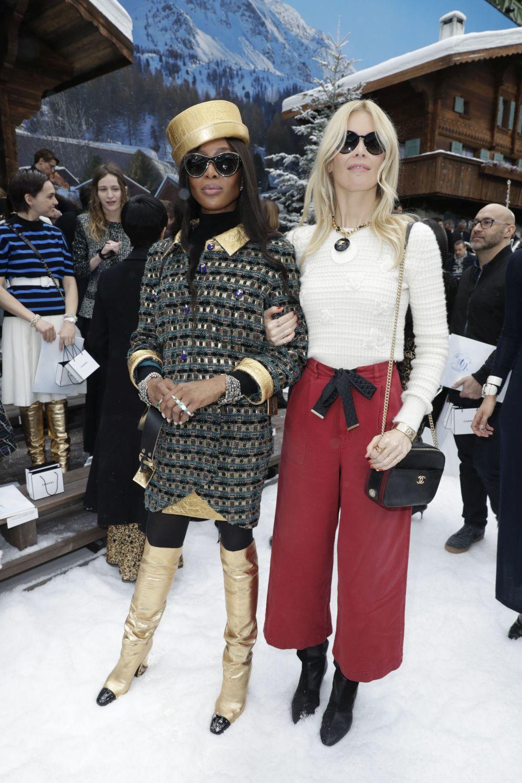 Naomi Campbell y Claudia Schiffer