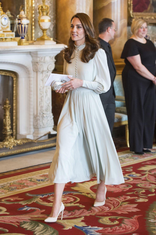 Kate Middleton vestida de Alexander McQueen.