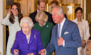 La familia real británica celebra en Palacio el cumpleaños del...