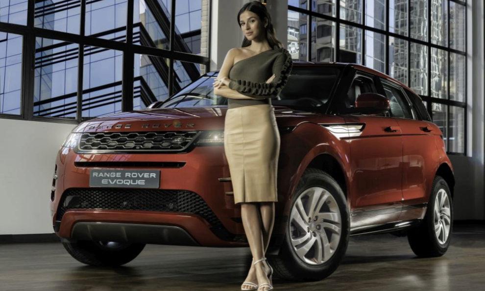 Sandra Gago en la presentación del nuevo Range Rover Evoque del que...