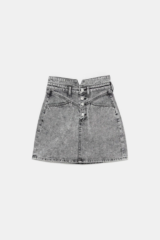 Falda de Zara (29,95 euros).