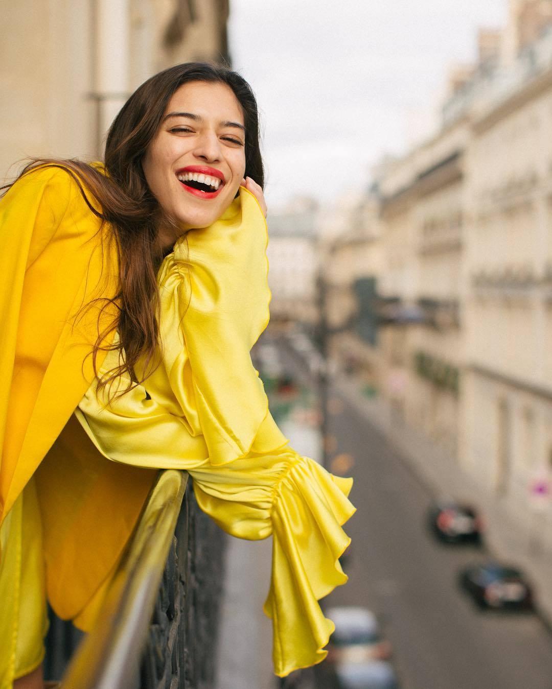 Marina Testino en París.