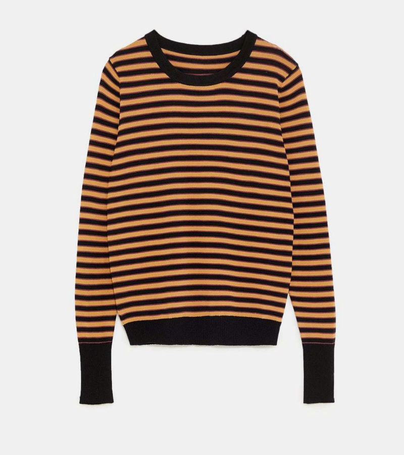 Jersey de rayas de Zara