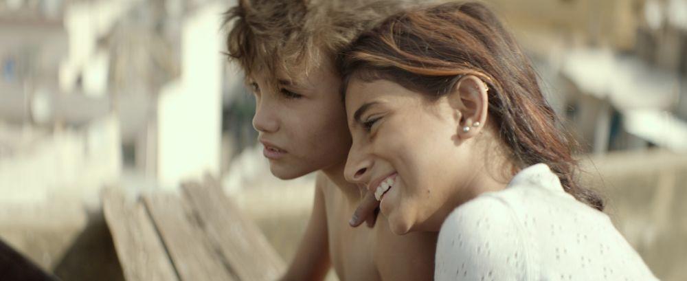 Los niños protagonistas de Cafarnaúm en una escena de la película.