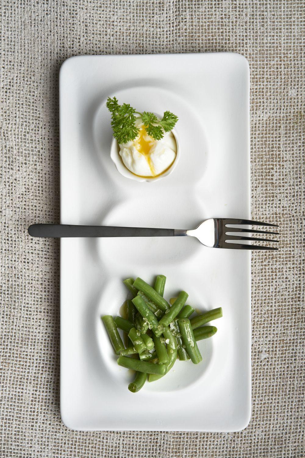 Los huevos y las verduras al vapor se convierten en una estupenda...