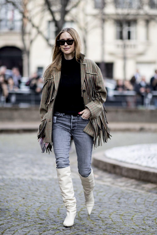 Pernille Teisbaek por las calles de París