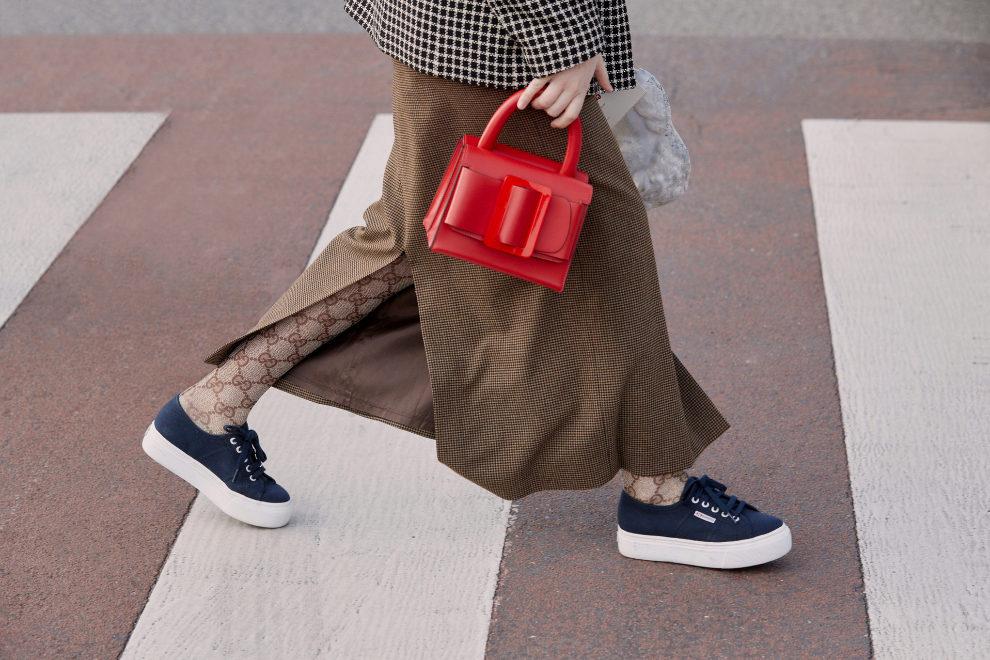 Las zapatillas Superga en Milán