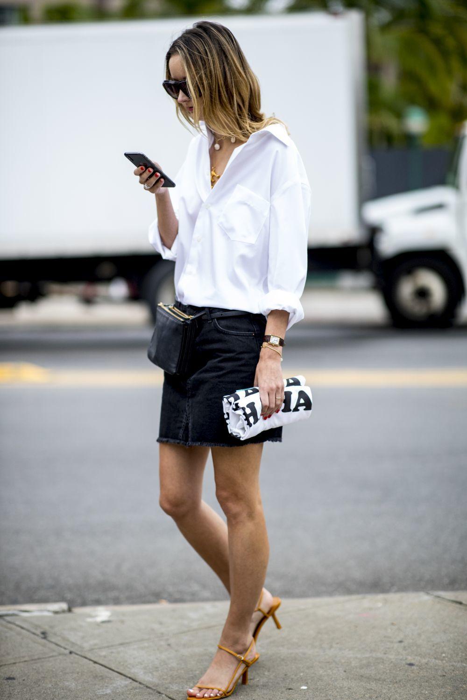 Apuesta por una minifalda.