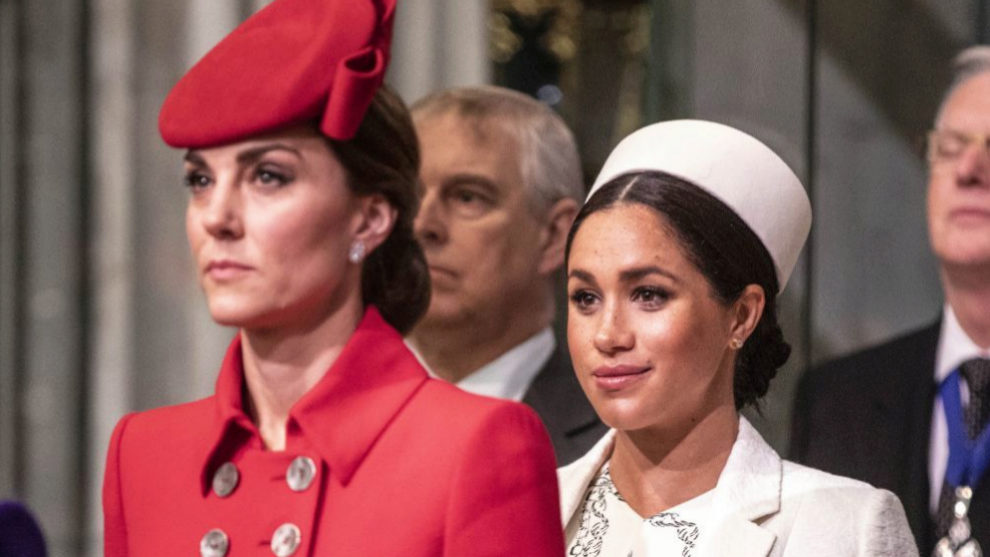 Kate Middleton y Meghan Markle.