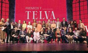 Foto de familia de los Premios TELVA Belleza 2019.