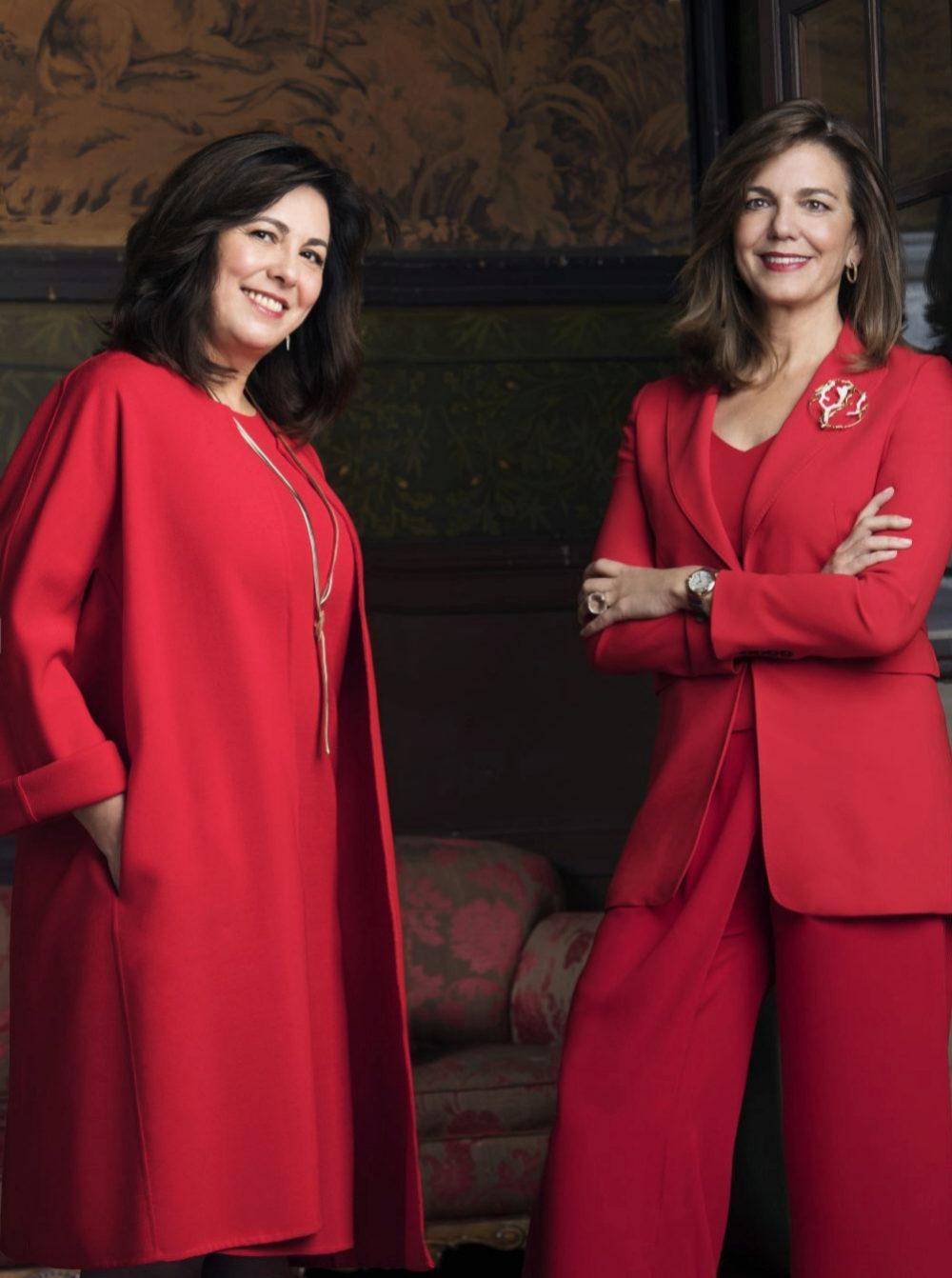 Rosa García y Amparo Moraleda
