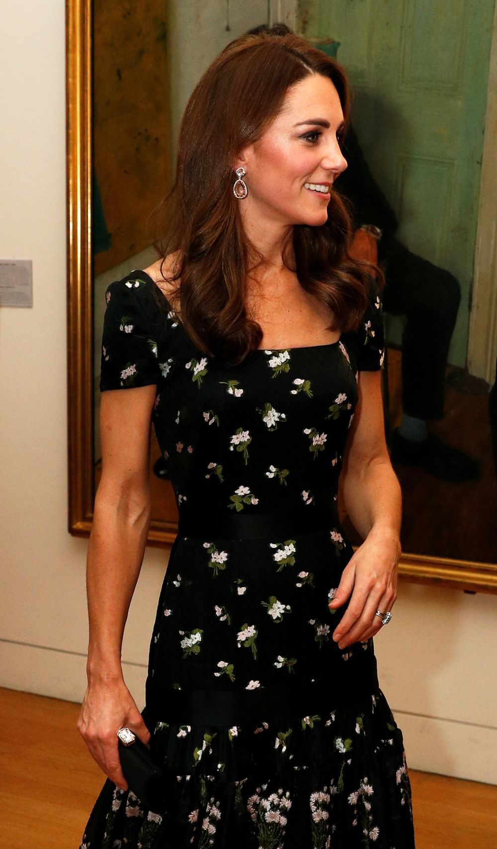 Kate Middleton en la National Portrait Gallery.