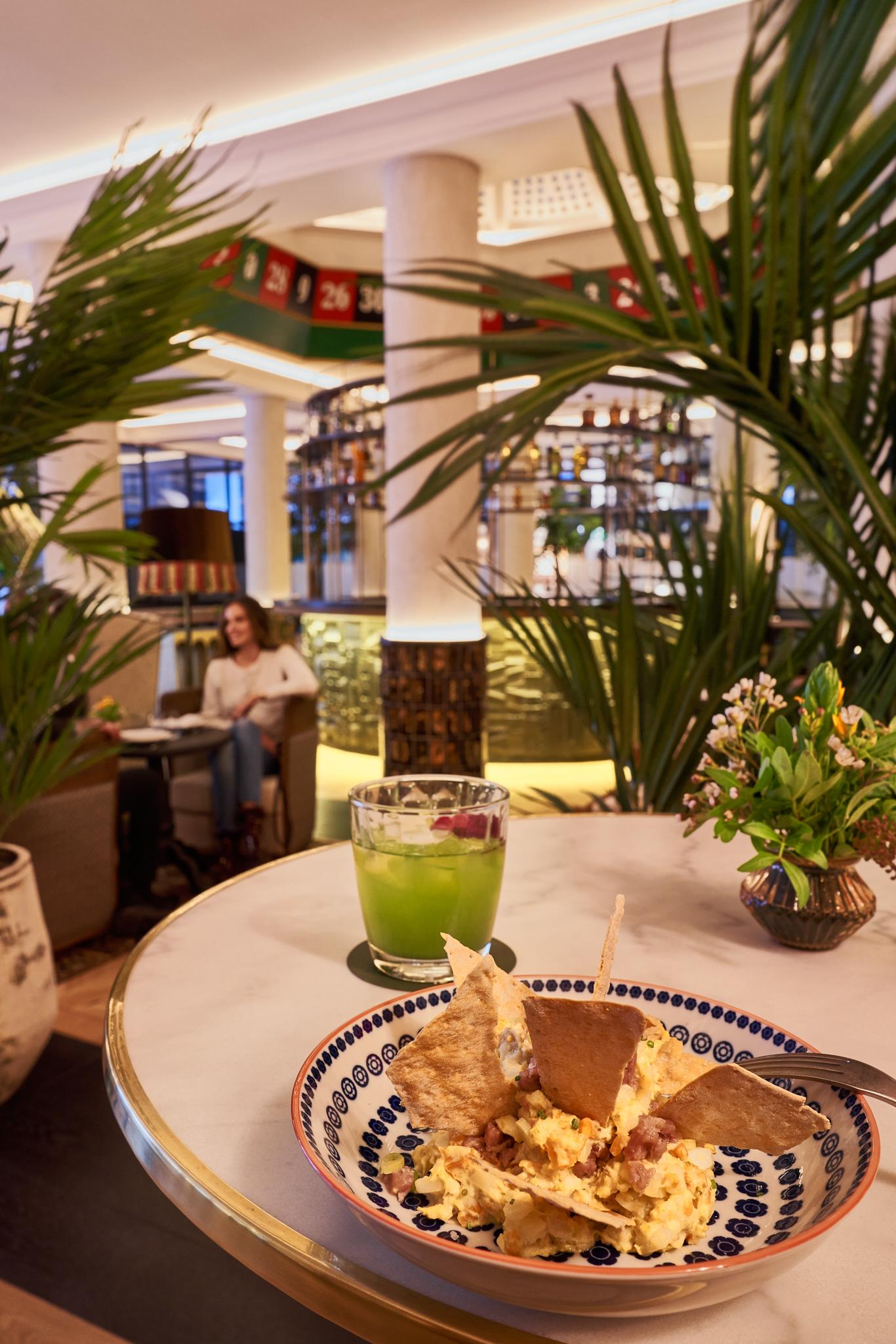 Propuesta gastronómica de Versus Lively Lounge del Bless Hotel Madrid