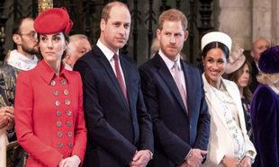 Los Duques de Cabridge y los de Sussex.