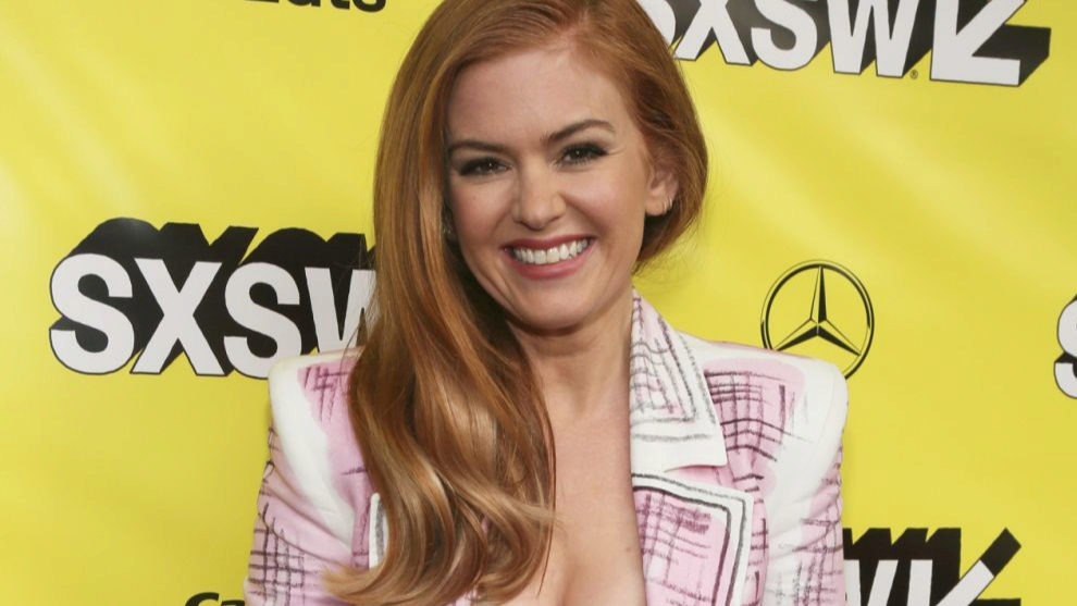 Isla Fisher presume de pelirrojo flannel con distintos matices de...
