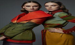 Algunos de los modelos de su primera colección de prêt à porter.