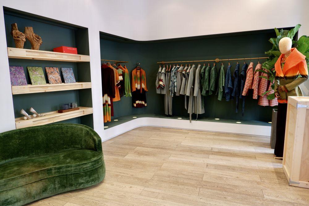 Aspecto de la tienda, en Claudio Coello 14, Madrid